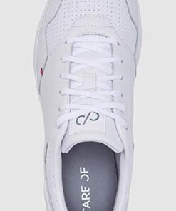 Puma Care of Γυναικεία δερμάτινα Αθλητικά Άσπρα Sneakers 372888 White