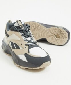 Γυναικεία αθλητικά Reebok Aztrek Double trainers in grey and chalk