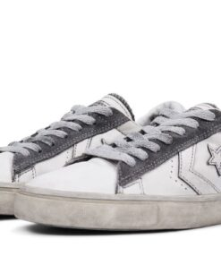 Converse leather/suede επεξεργασμένα με την τεχνική vulcanized